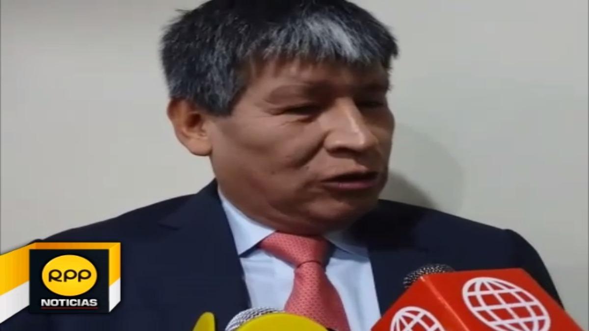 Wilfredo Oscorima retomó funciones como gobernador regional de Ayacucho.