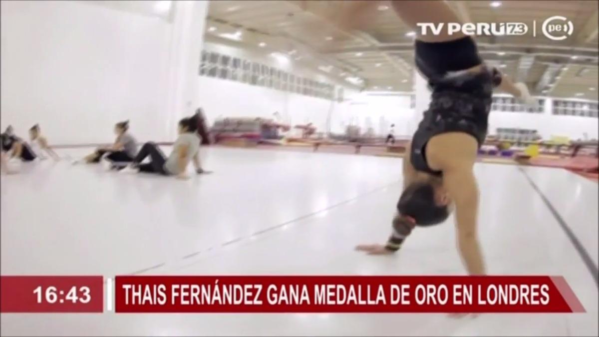 Thais Fernández es una experta en la gimnasia artística y también brilló el equipo nacional Jumping Jack.