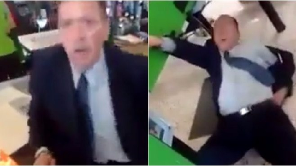 Incidente en supermercado se volvió viral en YouTube.