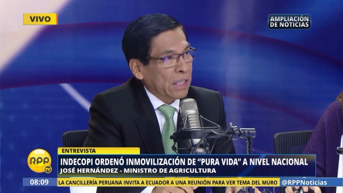 El ministro de Agricultura se pronunció sobre la polémica de los productos lácteos.