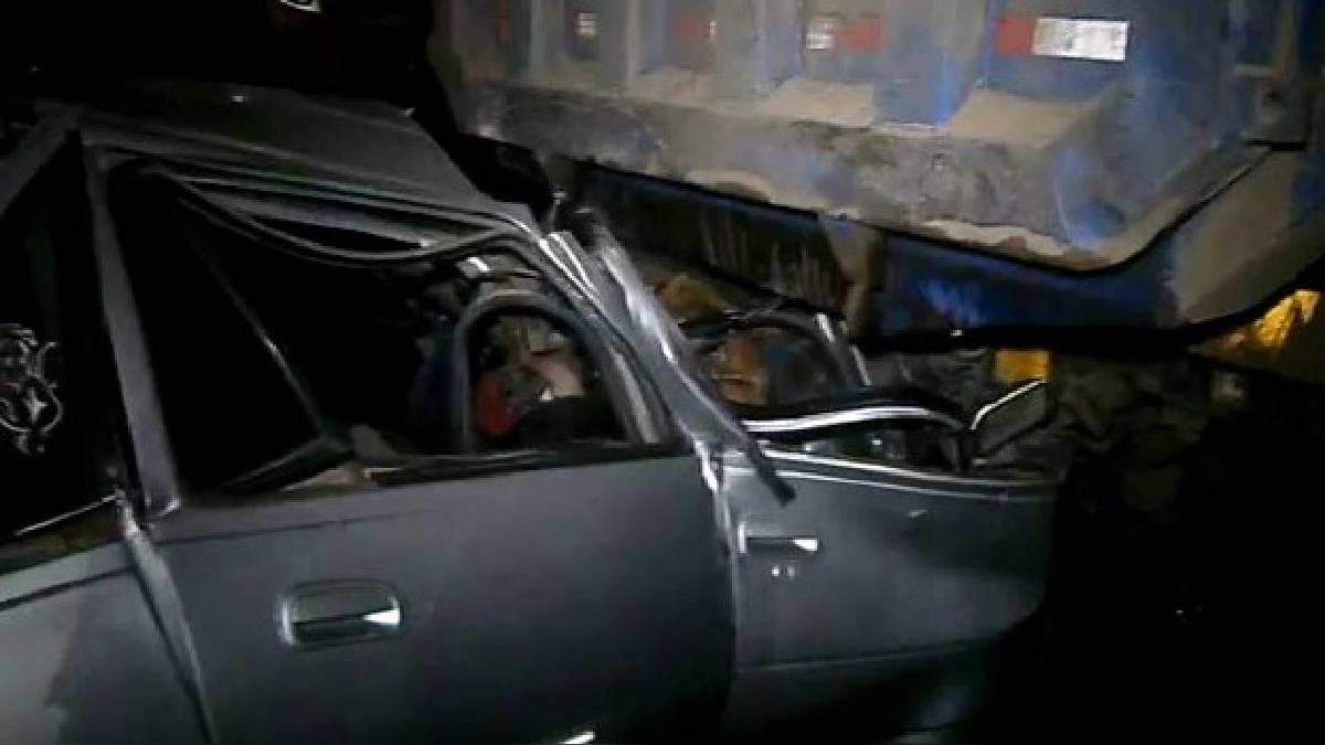 Las víctimas que viajaban en el auto regresaban de Cerro de Pasco a Huánuco.