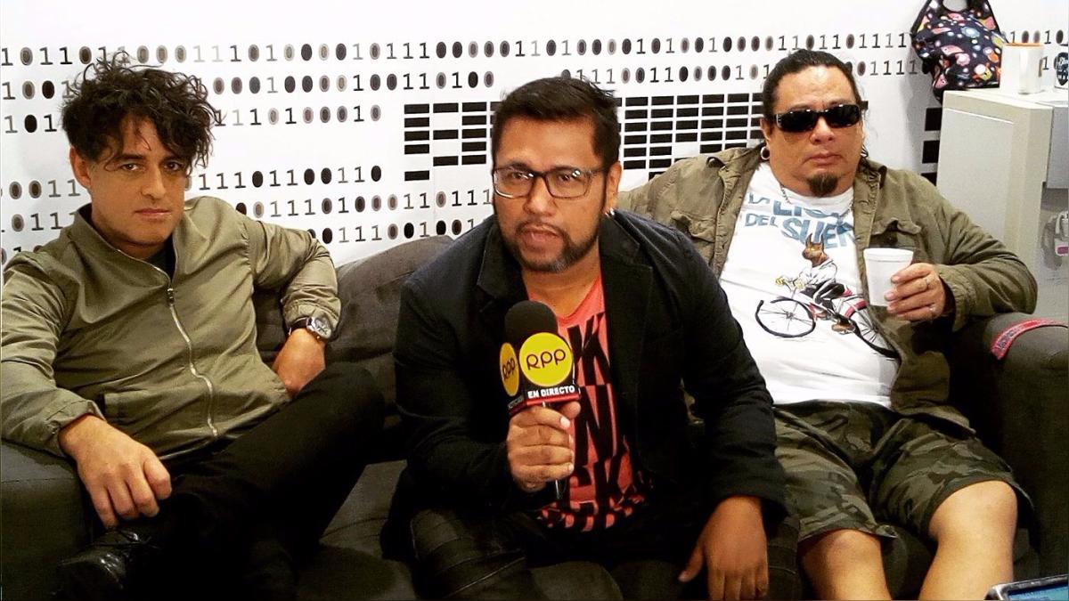 La banda estuvo en RPP Noticias hablando sobre su presentación.