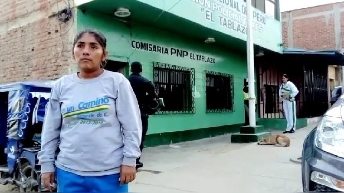 El intervenido fue trasladado a la comisaría El Tablazo.