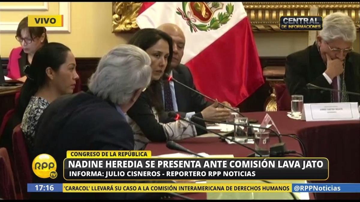 La respuesta de Nadine Heredia sobre la acusación de Belaunde Lossio que aseguró que dio 400,000 dólares de Odebrecht al Nacionalismo para la campaña.