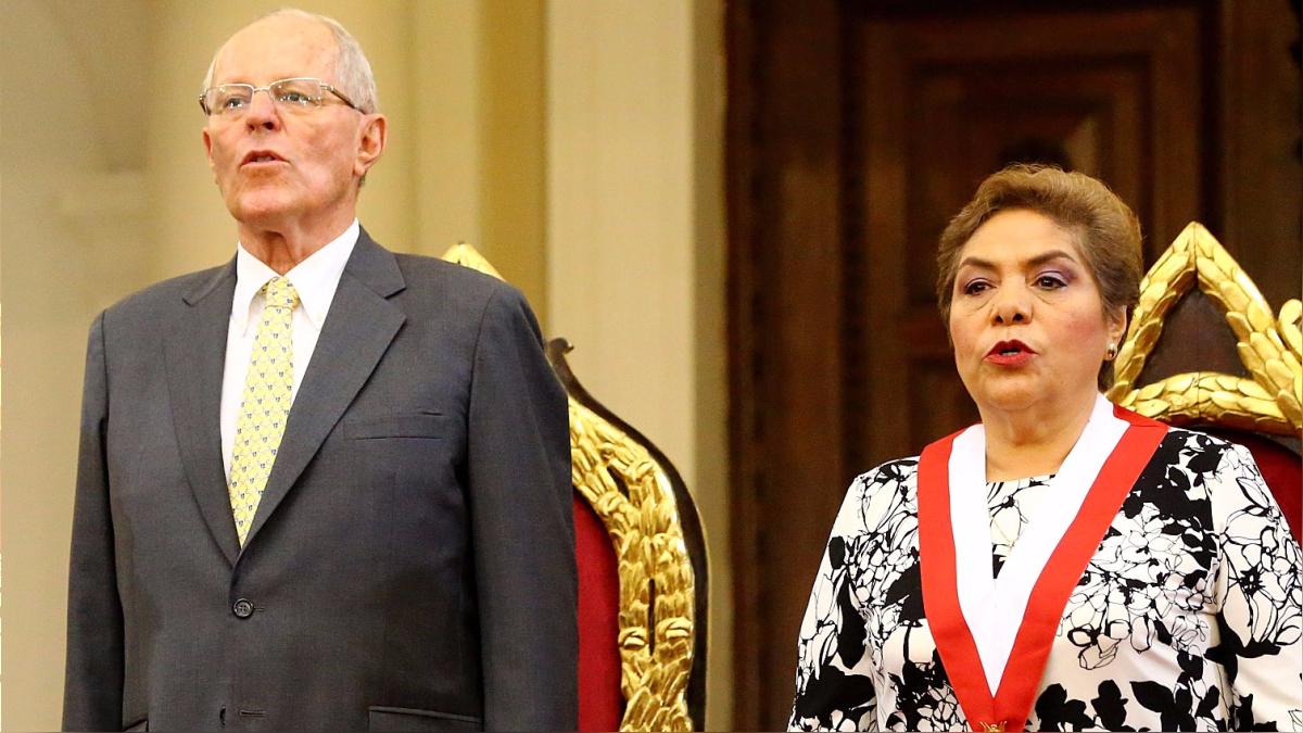 La presidenta del Congreso pidió al mandatario que no mencione al tema del indulto a Fujimori hasta que finalmente tome una decisión.