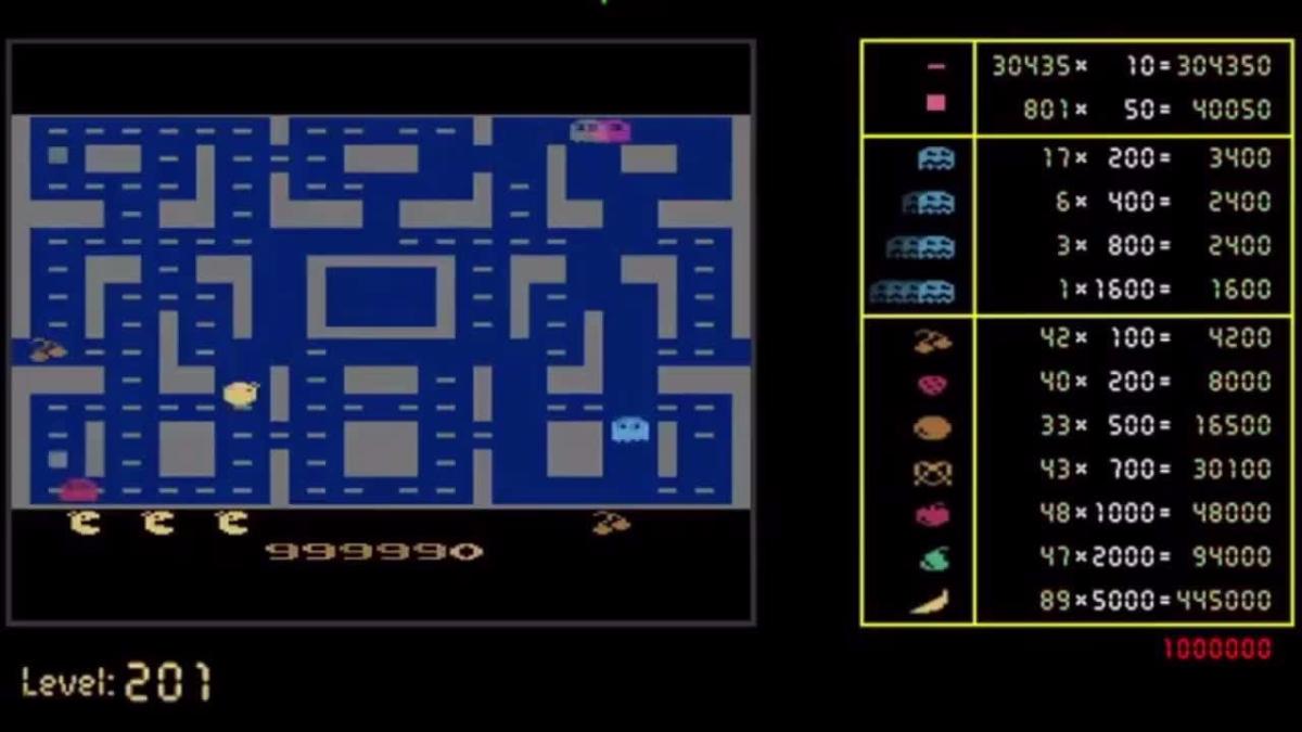 El sistema de inteligencia alcanzó el nivel 201 del juego.