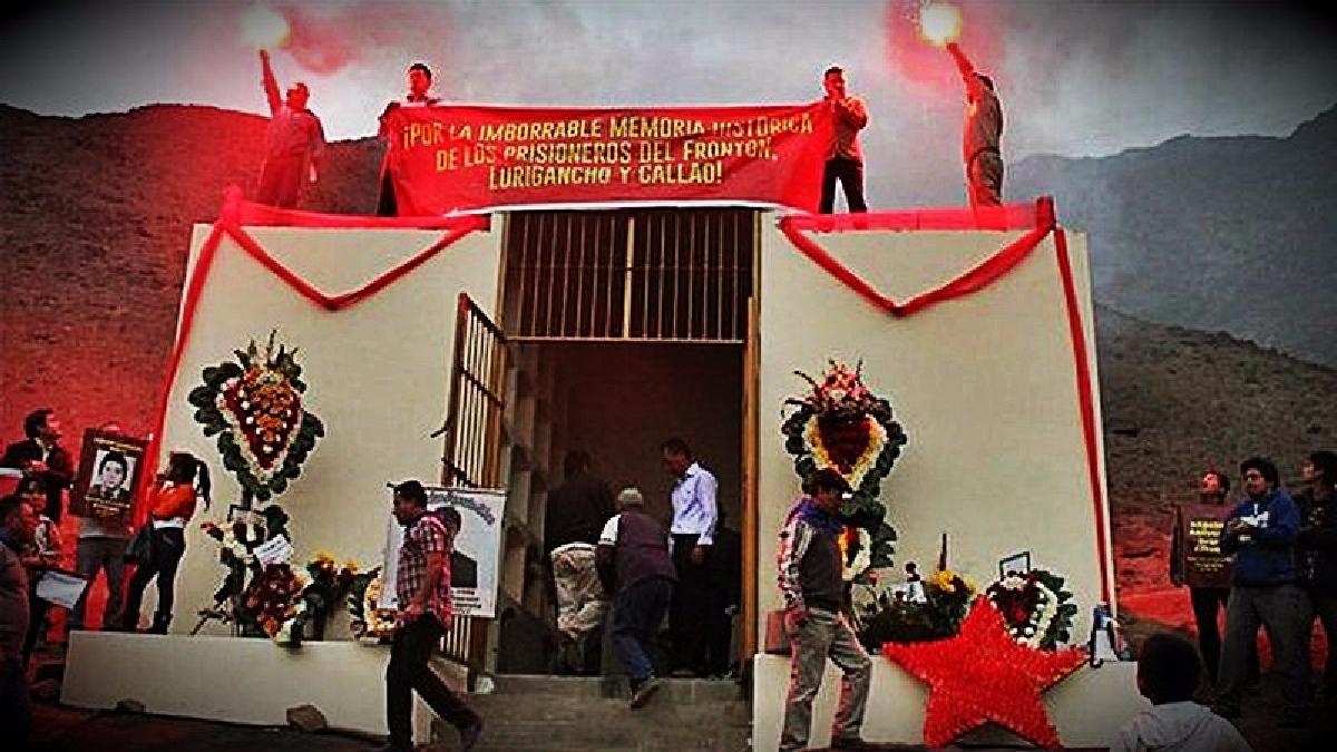 El comunicado indica que tanto la demolición del mausoleo como el traslado de los cuerpos corresponde a la comuna de Comas.