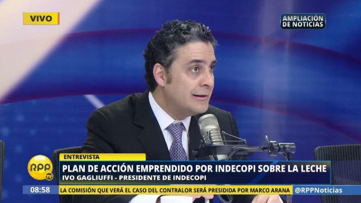 """El titular de Indecopi aseguró que actualmente está """"al servicio de la ciudadanía y de los consumidores""""."""