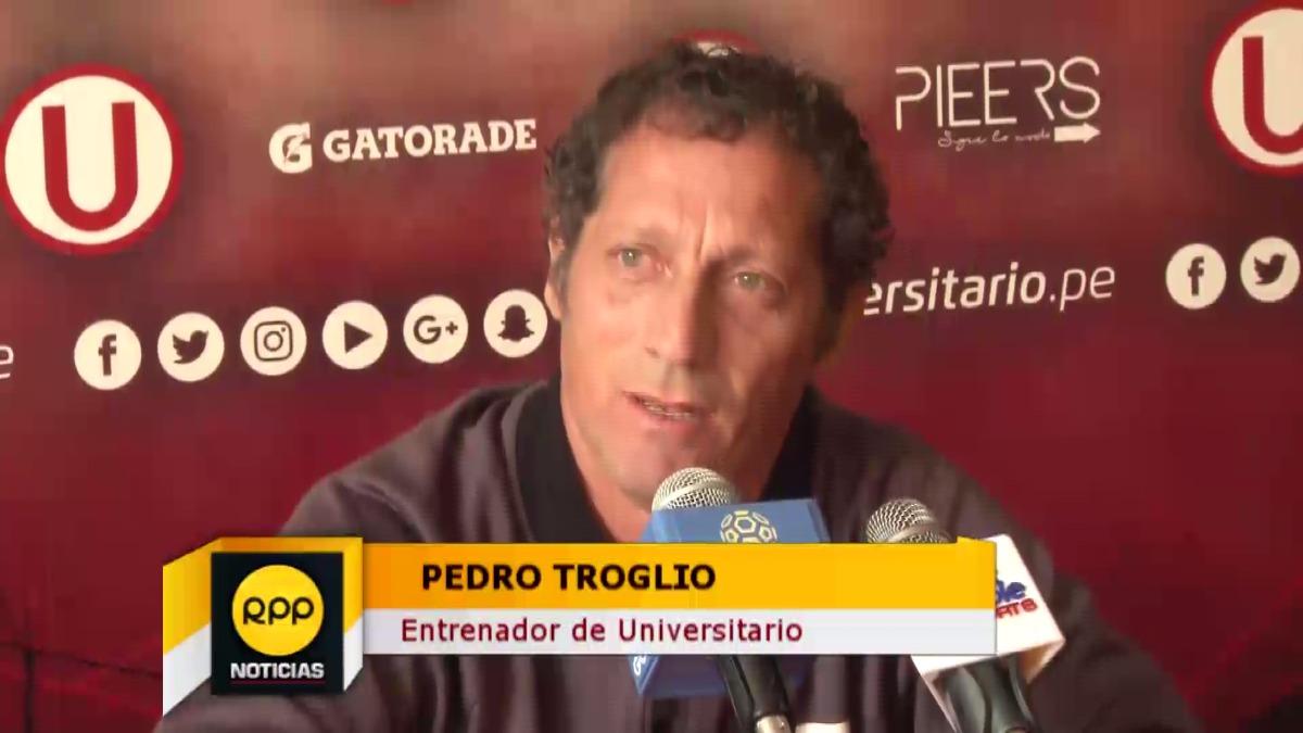 Pedro Troglio analizó la oferta que llegó de Colombia por Gómez.