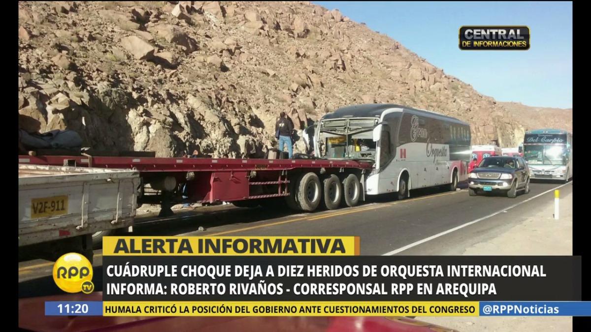 El corresponsal de RPP Noticias en Arequipa informó sobre lo ocurrido.