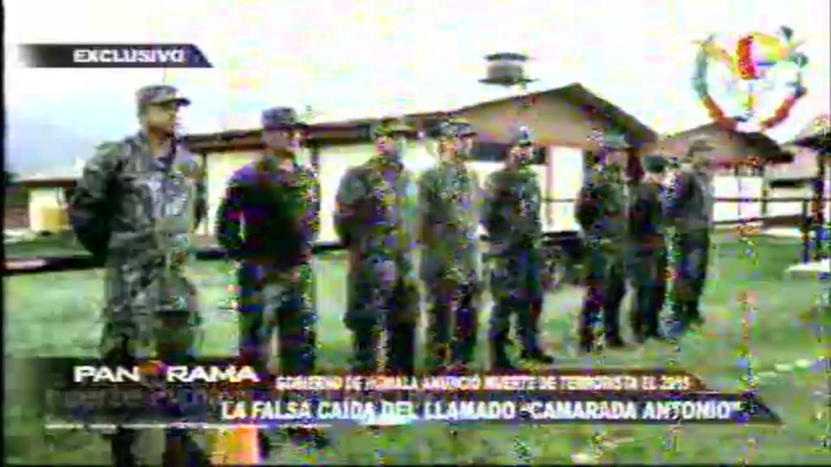 Reportaje de Panorama sobre la supuesta caída de 'Antonio'.