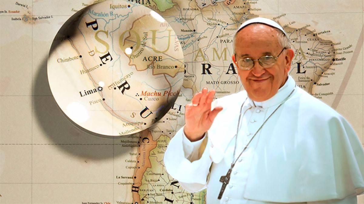 Las dos visitas anteriores de un papa al Perú fueron de san Juan Pablo II en 1985 y 1988. Recorrió los departamentos de Lima, Arequipa, Iquitos, Piura, Trujillo, Ayacucho y Cusco.