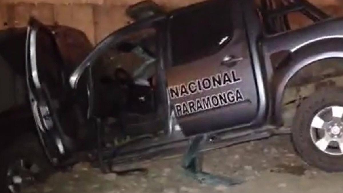 Vehículo policial chocó contra estructura del puente Pativilca ocasionando la muerte inmediata del policía.