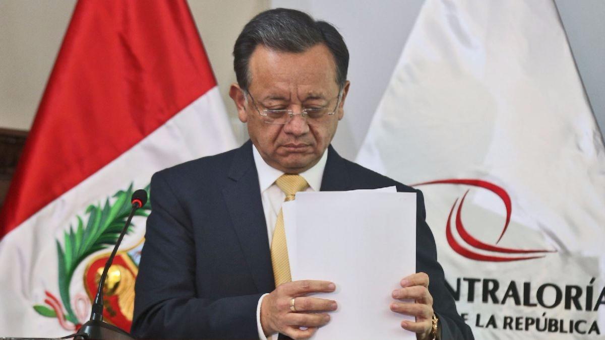 Edgar Alarcón es contralor desde junio del 2016.