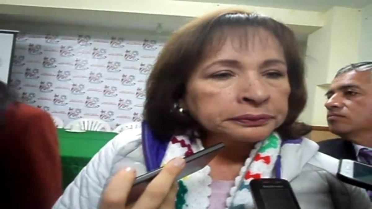 Ministra del Ambiente, Elsa Galarza.