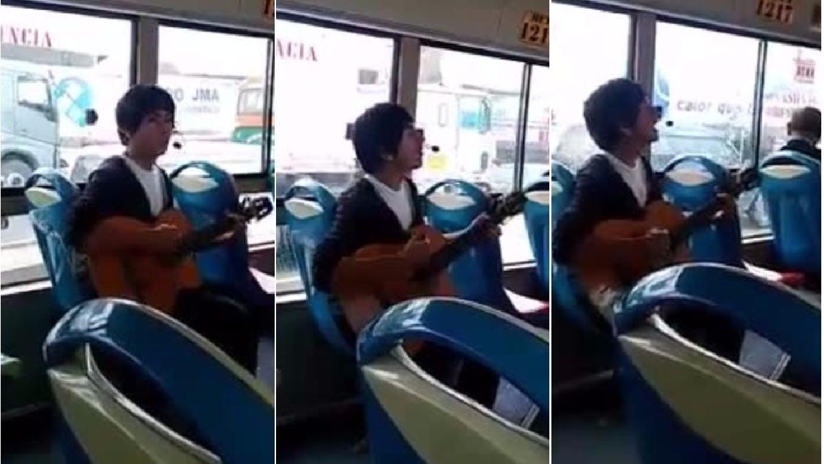 El video que lanzó a la fama al joven aún no identificado.