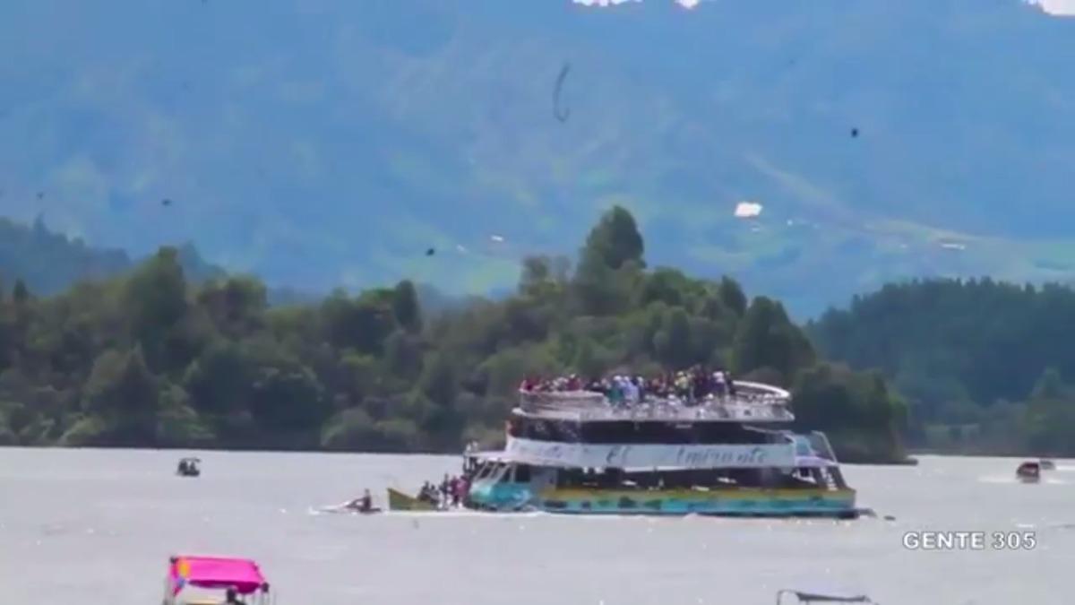 Autoridades colombianas señalaron que es la primera vez que se presenta un accidente como lo ocurrido en Guatapé.