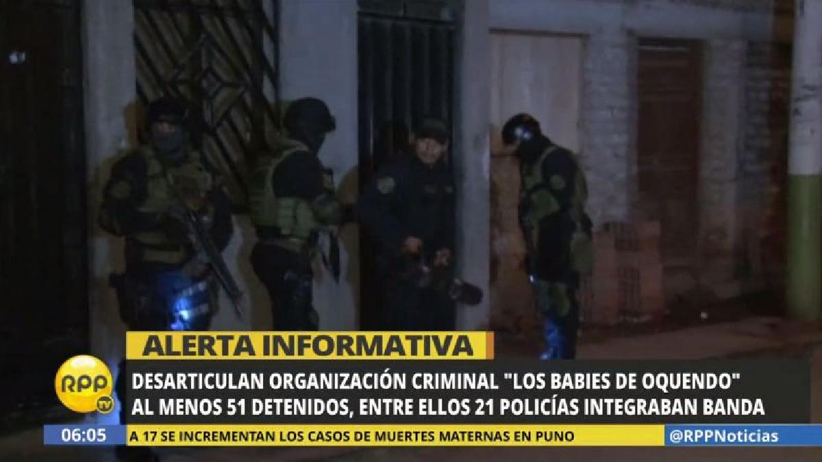 Resultado de imagen para DESARTICULAN UNA BANDA CRIMINAL INTEGRADA POR 21 POLICÍAS