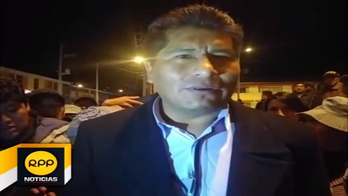 Exdirigente Aymara, Walter Aduviri se pronunció tras conocerse el adelanto del fallo.