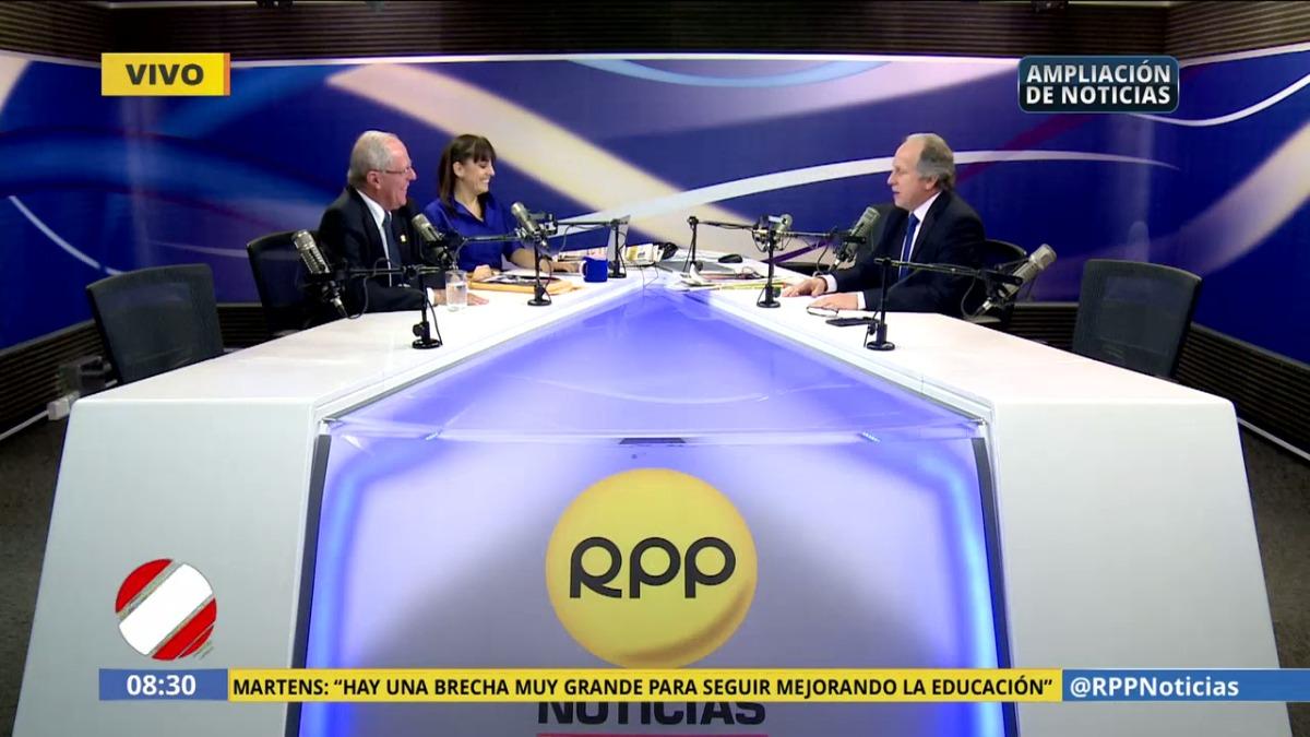 PPK dijo que espera un informe médico del expresidente Alberto Fujimori.