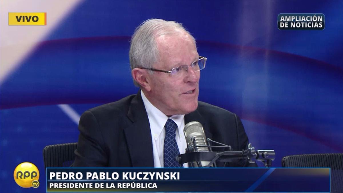 PPK y su entrevista mensual en RPP Noticias