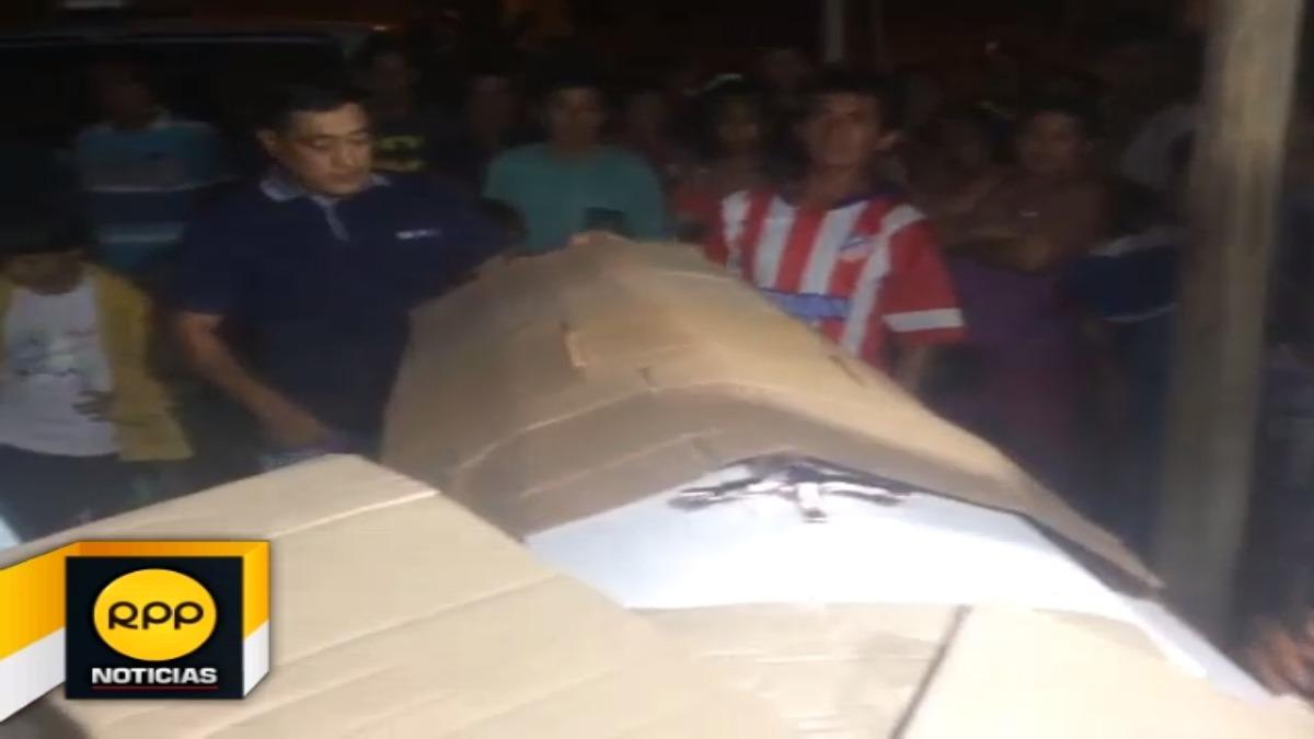 Los restos de Harvel Apagueño Cimarra llegaron a su vivienda, familiares indicaron que solo en Lima les brindaron el ataúd.
