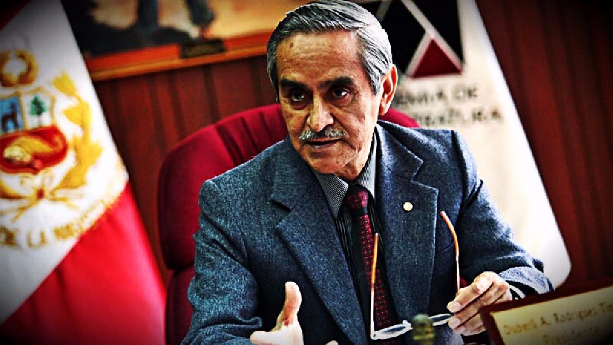 El presidente del Poder Judicial dijo sentirse sorprendido al escuchar que el juez Carhuancho tenía presión de la Corte Suprema.