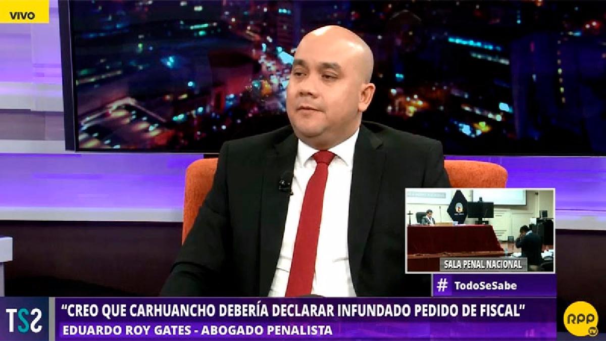 El abogado penalista dijo que el argumento del viaje de las hijas del matrimonio Humala-Heredia no es suficiente para pedir la prisión preventiva.
