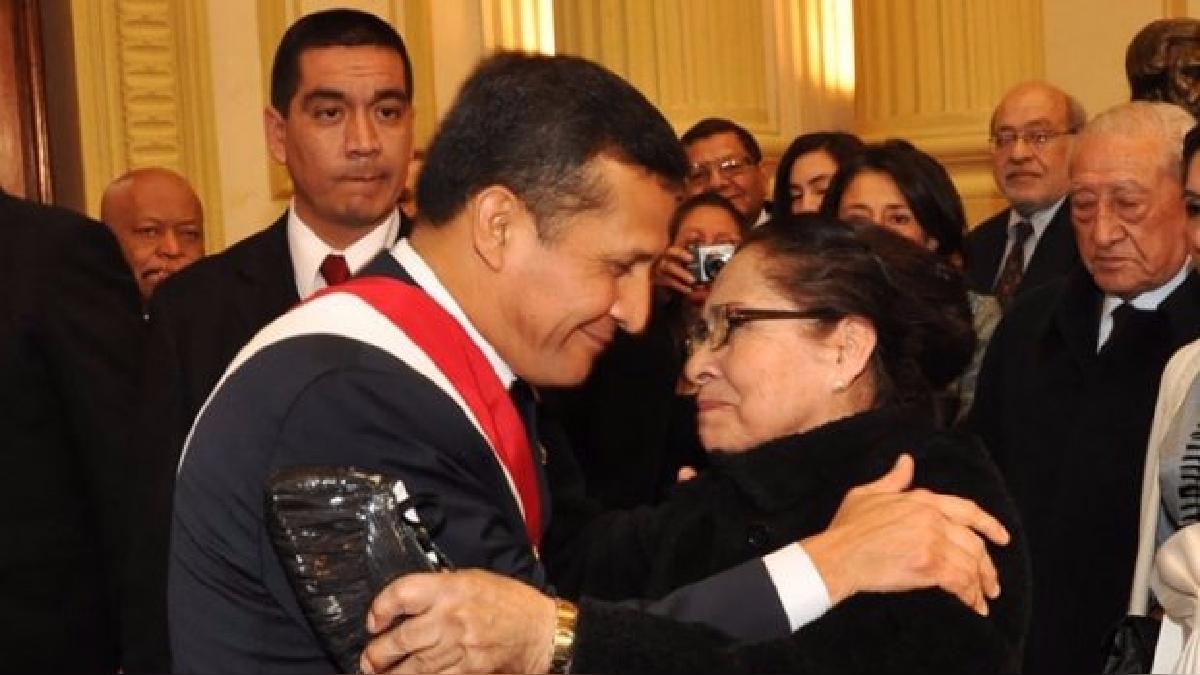 Elena Tasso, la madre de Ollanta Humala, dijo que su hijo no tenía intención de evadir a la justicia.