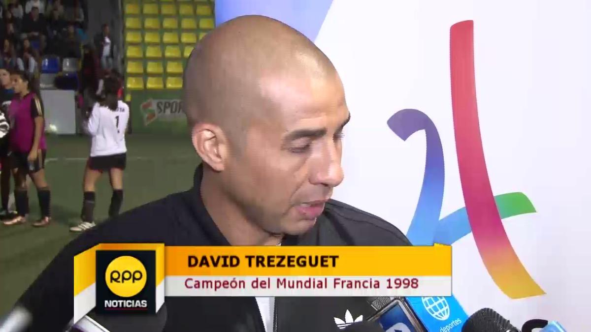 David Trezeguet nació en Francia y se formó futbolísticamente en Argentina.