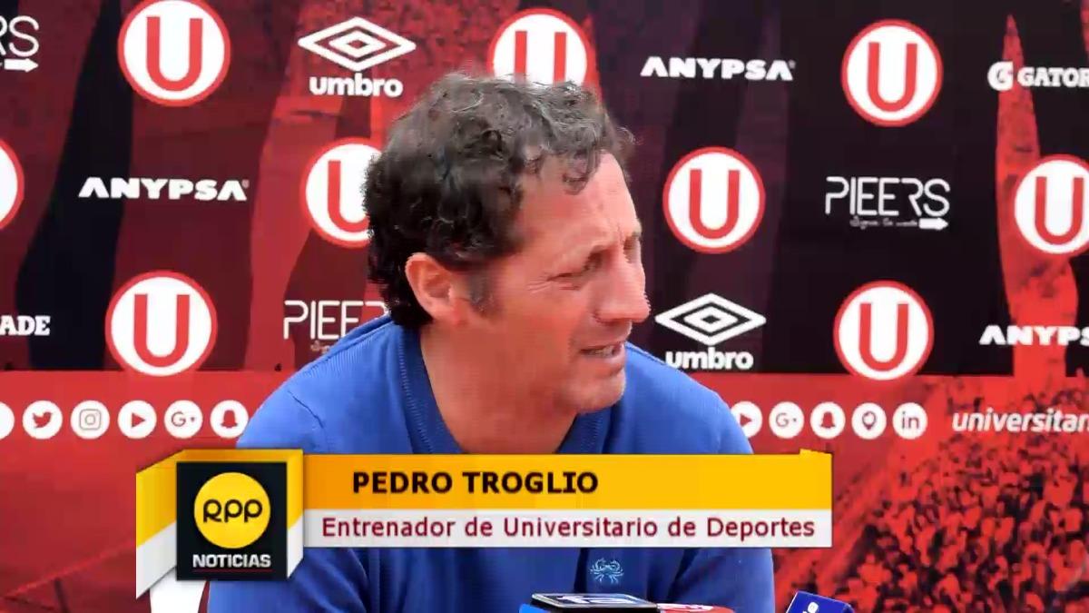 Pedro Troglio ha colodado a Universitario por el momento en la sexta casilla del Apertura con 15 unidades.