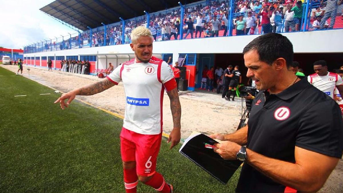 Juan Vargas llegó a Universitario para reforzar el plantel del 2017.