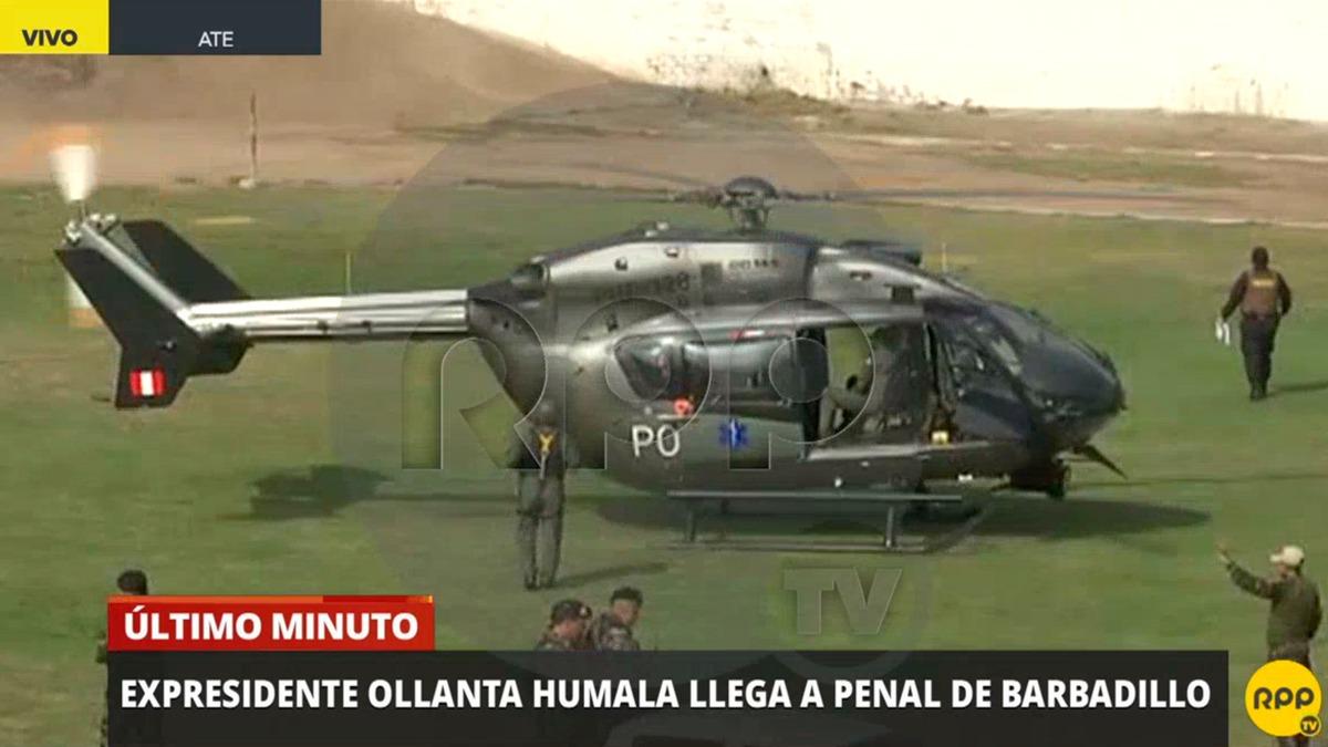 Así fue la llegada de Ollanta Humala a Barbadillo.