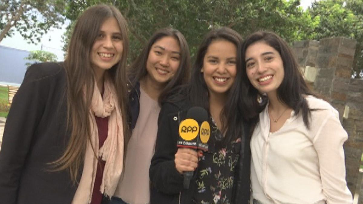 Estas cuatro estudiantes de la Universidad de Lima, junto a dos compañeros más, crearon Topchicken.pe