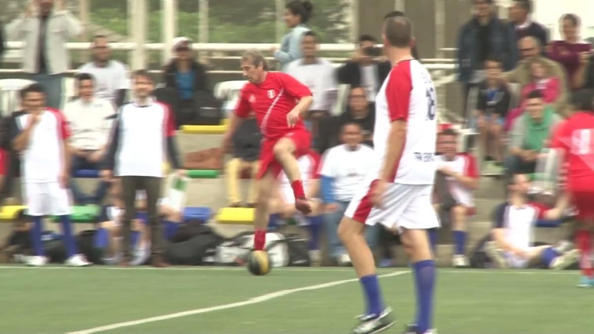 Revisa lo mejor del partido con los exintegrantes de la Selección Peruana.