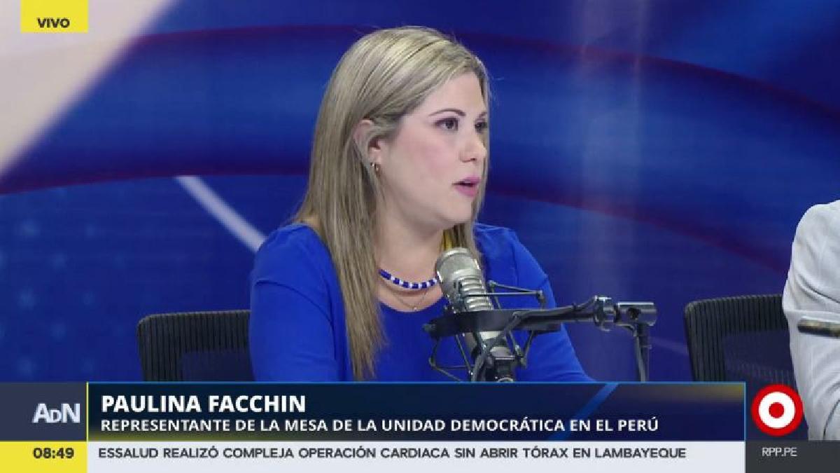 Paulina Facchin estimó que 11 millones de venezolanos alrededor del mundo votarán en este plebiscito.
