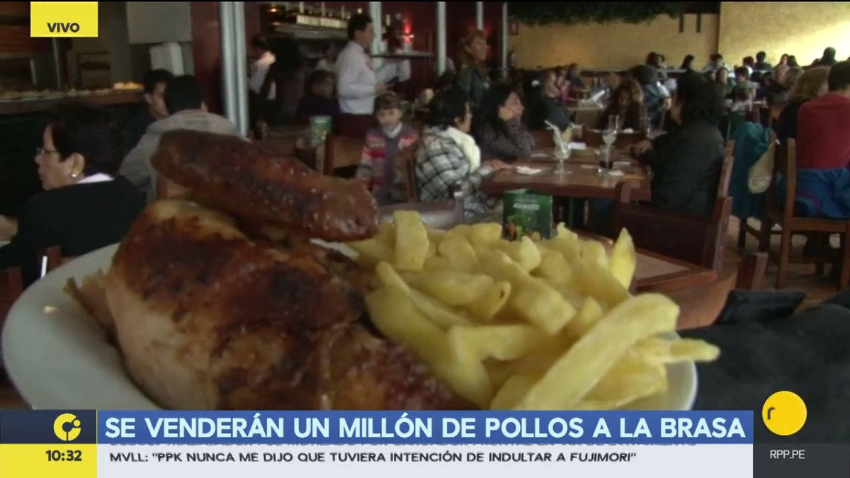 El número de pollerías en el Perú aumentó respecto a 2015.