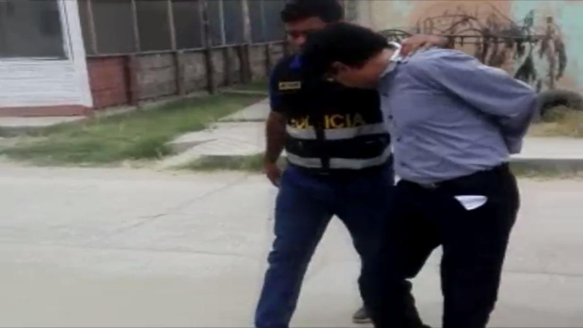 Trabajador del Hospital Regional de Tumbes detenido por recibir presunta coima.