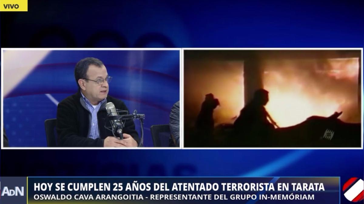 Este domingo se cumplen 25 años del atentado terrorista en Tarata.