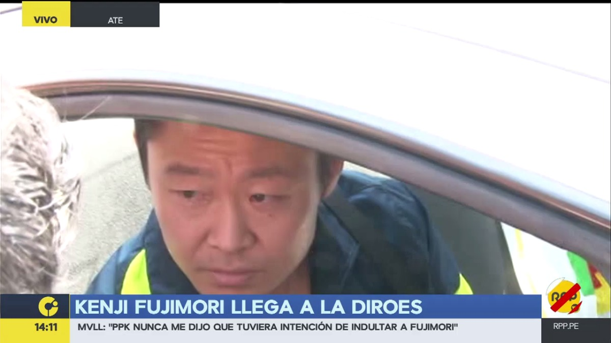 Kenji Fujimori confirmó que el otro palto de comida que llevó el último domingo, era para Ollanta Humala.