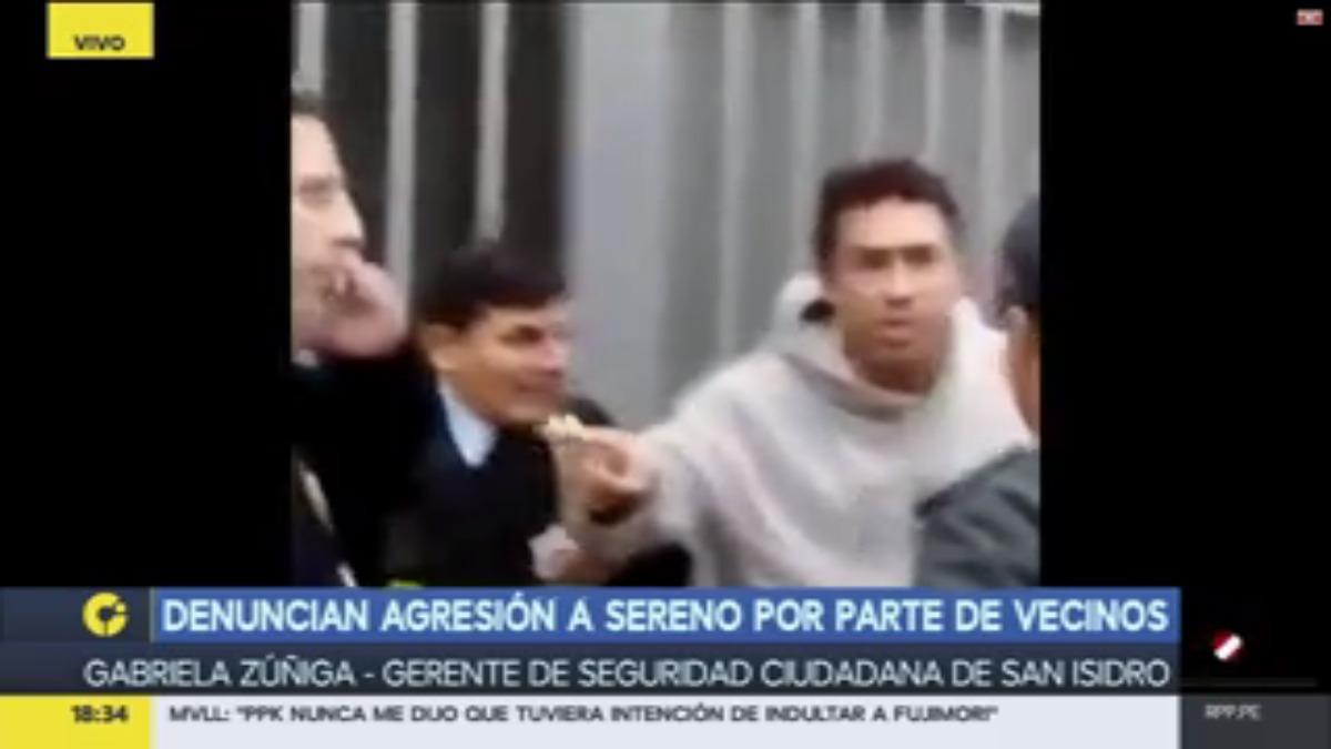 Habla sobre este caso la gerenta de Fiscalización de San Isidro.