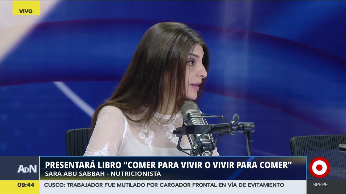 La nutricionista Sara Abu Sabbah promete que su nueva publicación será una guía para reconocer enfermedades como la anorexia o la bulimia.