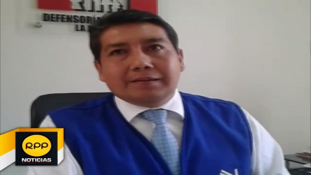 Jefe regional de la Defensoría del Pueblo pidió a autoridades ejecutar obras de saneamiento.