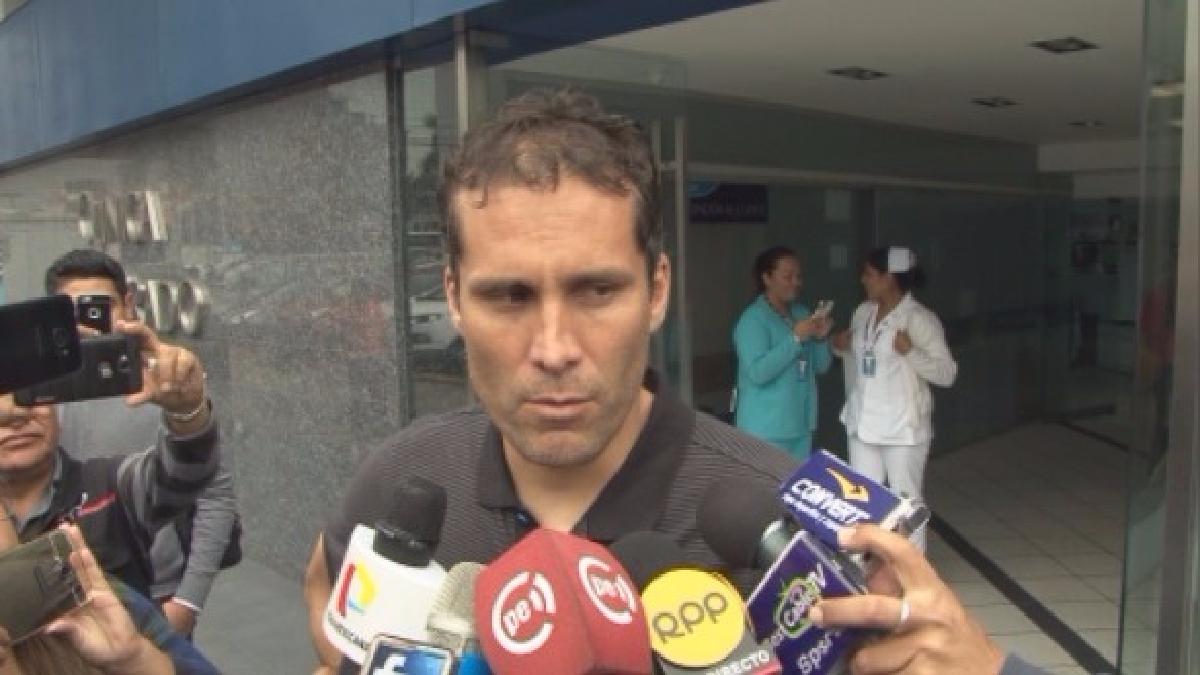 Leao Butrón salió del partido entre Alianza Lima y Sport Huancayo al minuto 20'.