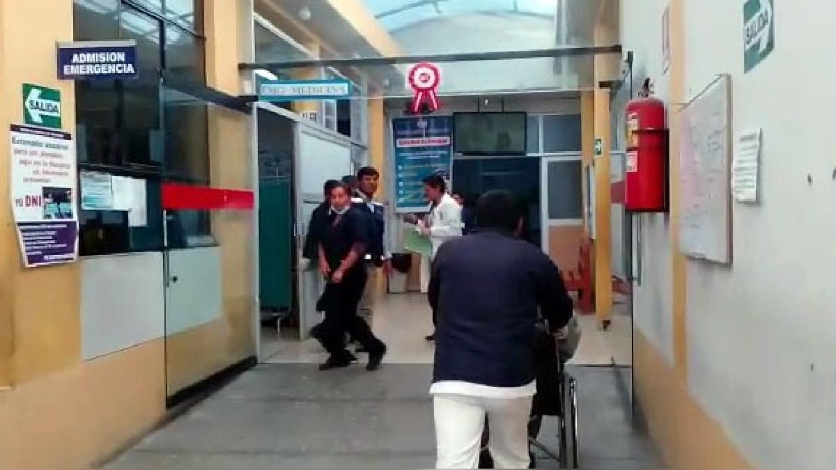 Los heridos fueron trasladados al Hospital Regional de Ayacucho.