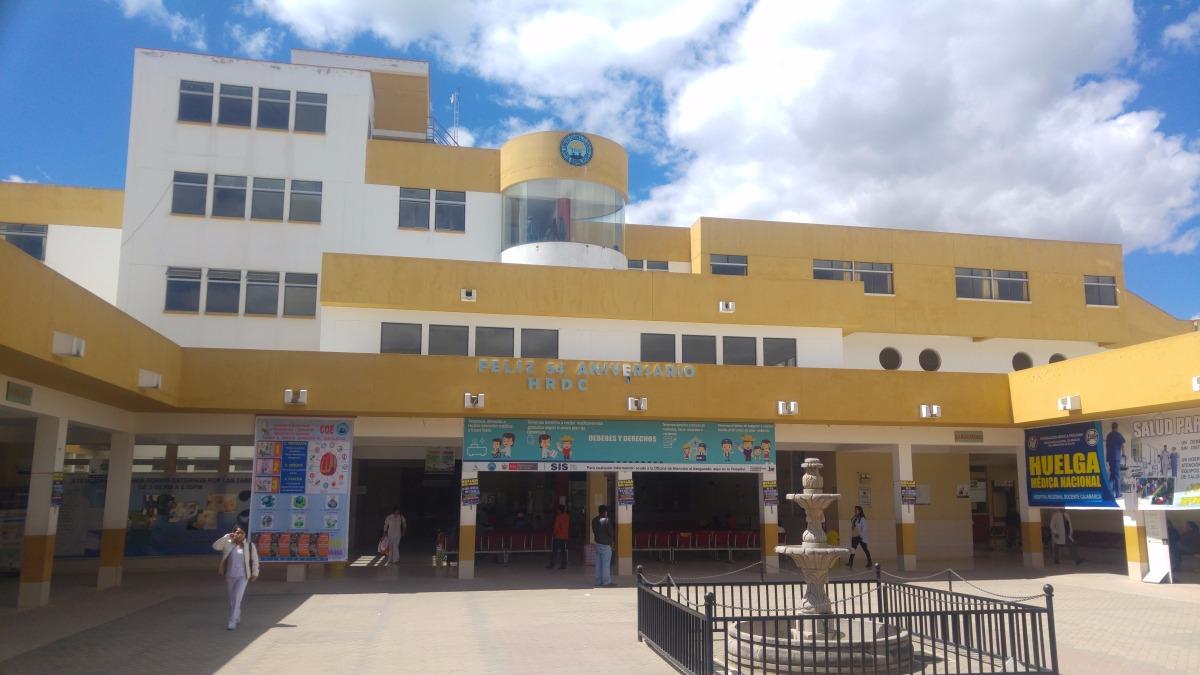 Hospital Regional de Cajamarca acata huelga nacional de médicos.