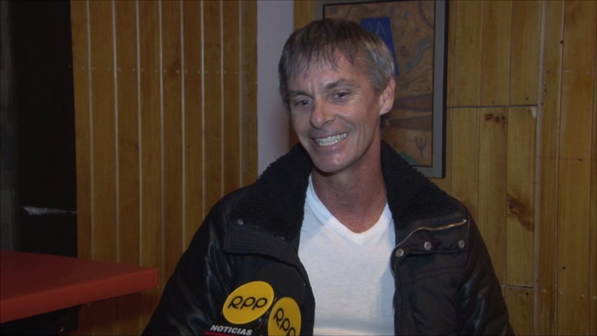 El cantante habló con RPP Noticias.
