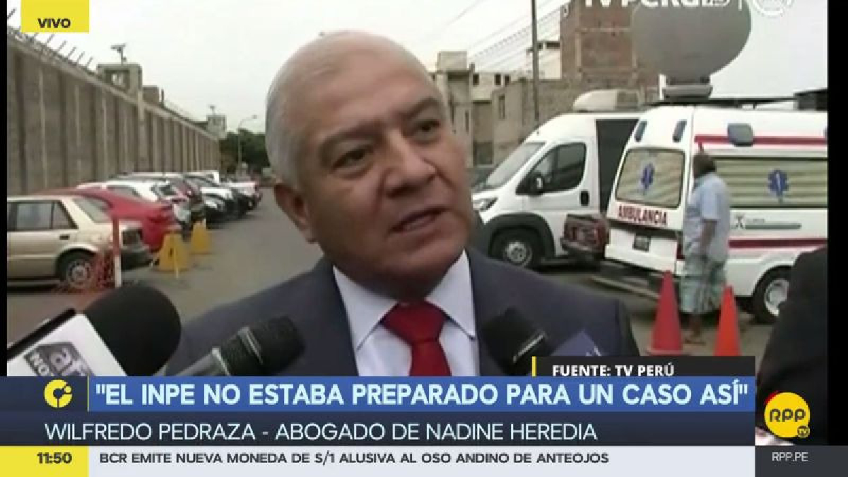 Wilfredo Pedraza dijo no tener conocimiento del supuesto encuentro entre Keiko Fujimori y Ollanta Humala.
