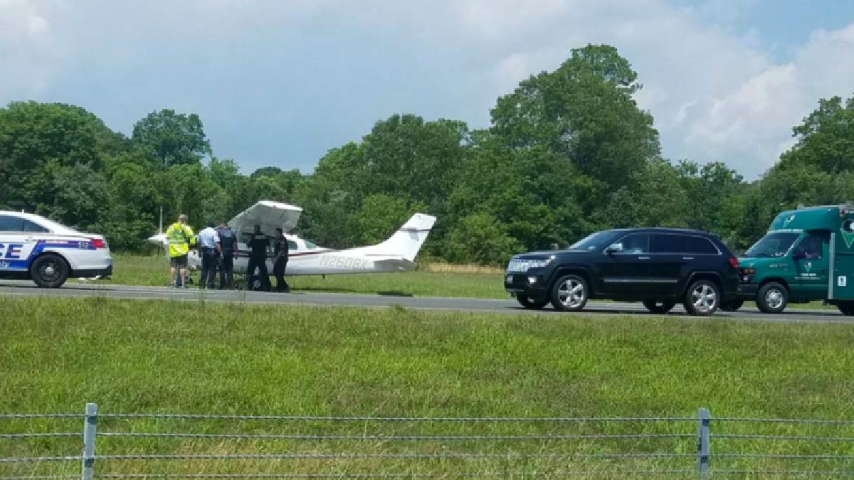 El video muestra la hazaña del piloto.