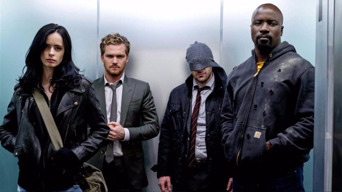 Una nueva foto promocional de The Defenders
